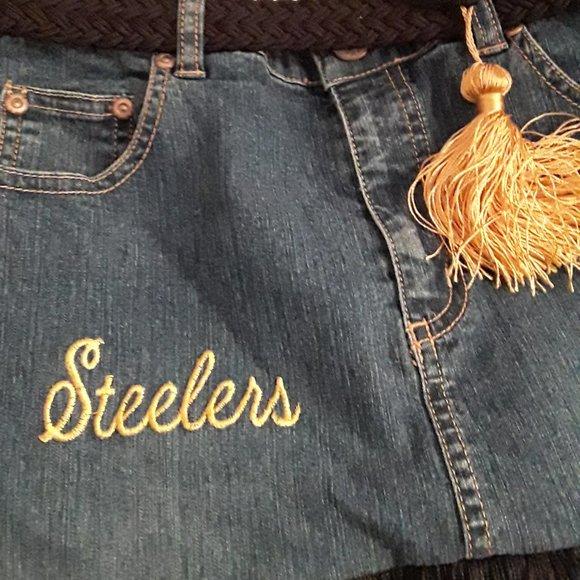STEELERS Jeans Purse W/ Belt